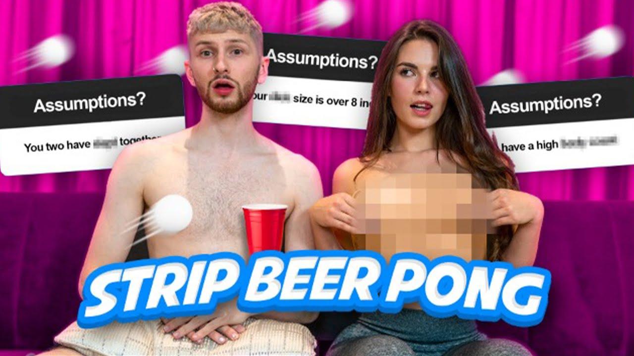 Strip Beer Pong ft. Lauren Alexis
