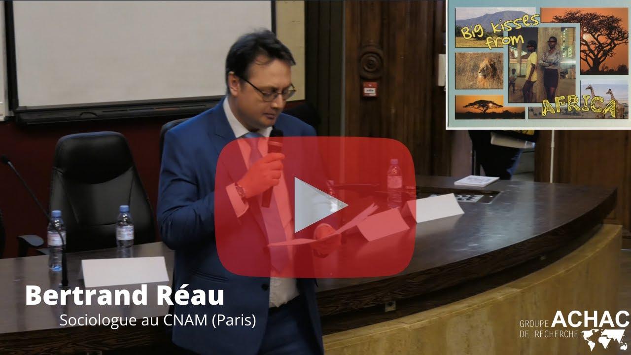 """Bertrand Réau au colloque """"Images, colonisation, domination sur les corps"""" - CNAM 03/12/2019"""