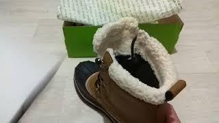 Обзор Crocs allcast II крокс мужские ботинки зимние крокс