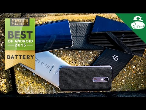 Best Of Android 2015: Battery