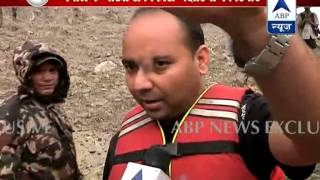 First on ABP News from ground zero in Nepal l Lake which could be reason for flood in Bihar
