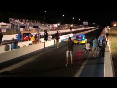 Dune Buggy Warehouse Nationals Final Race Pat Downs vs Ollie Frey VW Drag  Night 2018