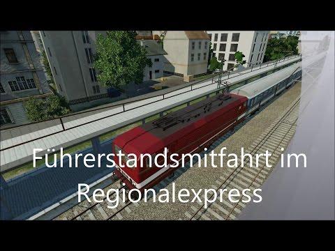 Transport Fever [Gameplay] Führerstandsmitfahrt im Regionalexpress