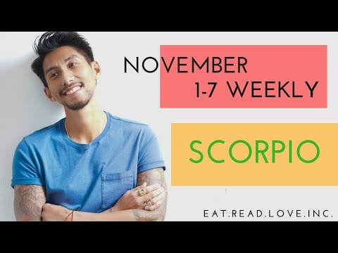 "SCORPIO SOULMATE ""THIS WILL HAPPEN SOON"" NOVEMBER 1-7 WEEKLY TAROT READING"
