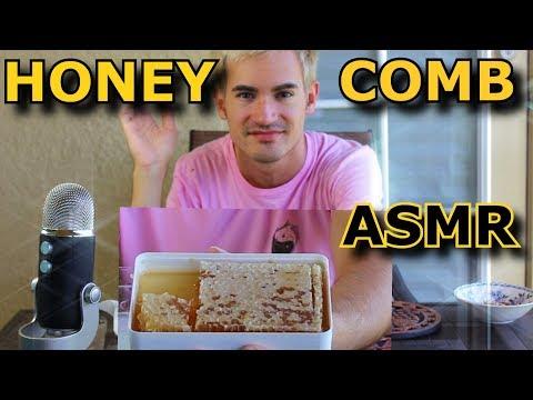 Honey Comb Eating (INTENSE STICKY SOUNDS) ASMR