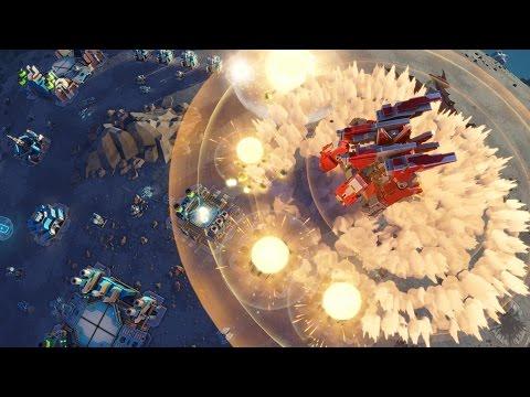 Planetary Annihilation TITANS - Уничтожение планеты