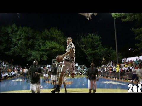 Kyle Guy Windmill  SHOCKS Rucker Park (Adidas All-Star Game)