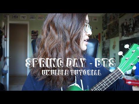 BTS (방탄소년단) - Spring Day (봄날) (Ukulele Tutorial)