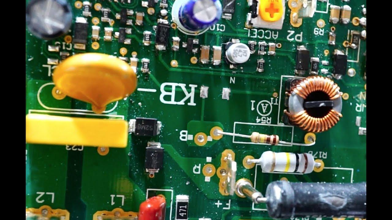 KB Mini Lathe Speed Controller Circuit Board