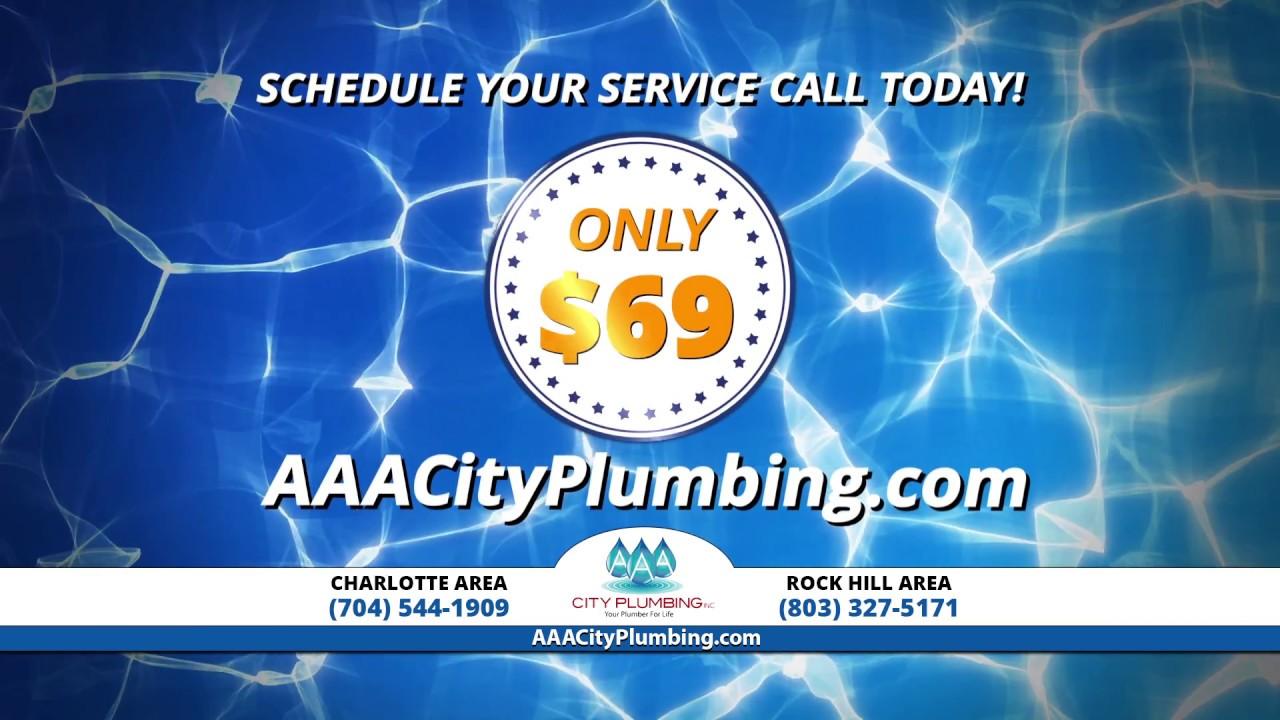 Charlotte Plumber | Rock Hill Plumber | AAA City Plumbing
