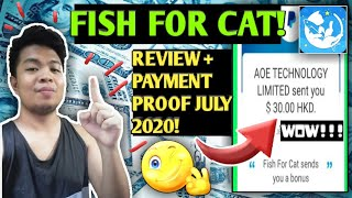 EARN WHILE PLAYING w/ FISH FOR CAT! | Honest Review w/ PAYMENT PROOF! (Must Try!) 💰 | Marky Vlogs