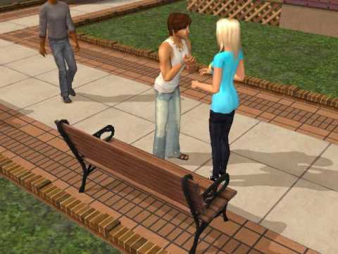 Taylor Swift - you belong with me sims 2 video