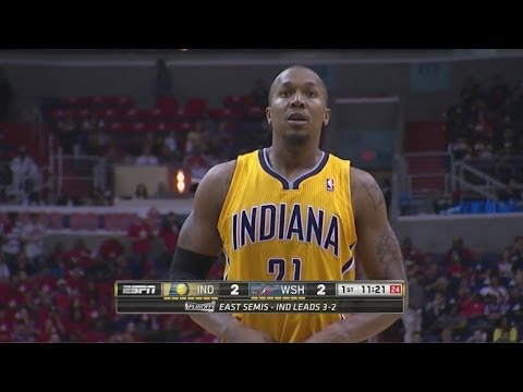 David West Full Highlights 2014 ECSF G6 at Wizards - 29 Pts