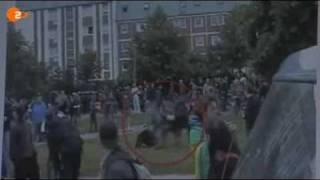 Schwarze Block in Rostock 02.06.07 G8 Riot