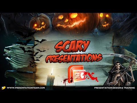 Scary Presentations 10 Ugly PowerPoint Slides for Halloween - YouTube