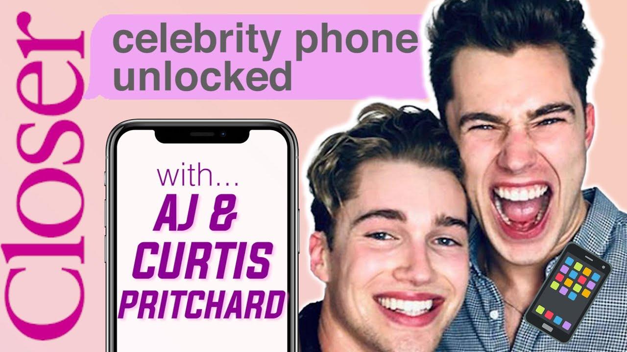 'That's weird!' What has Curtis Pritchard been messaging AJ's girlfriend?!