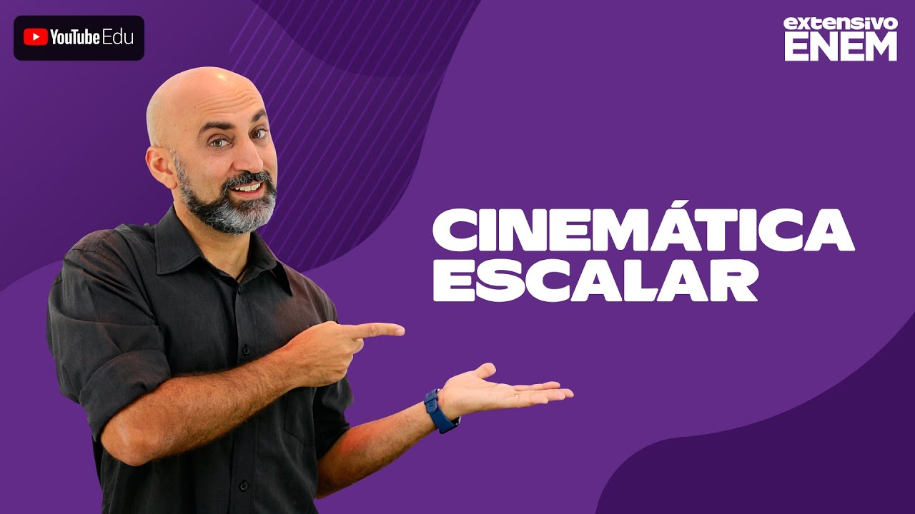 Física - Cinemática Escalar (Prof. Cesar Staudinger)