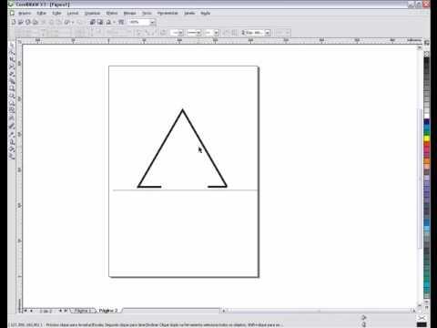 Criando Calendario de Mesa no CorelDraw x3 - YouTube
