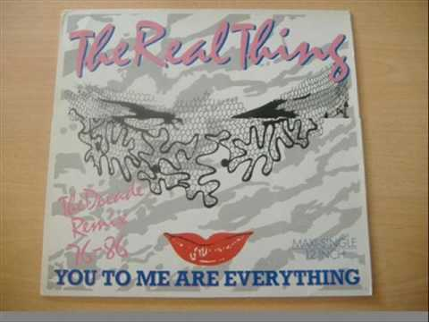 You To Me Are Everything ( Extended Version ) - The Real Thing