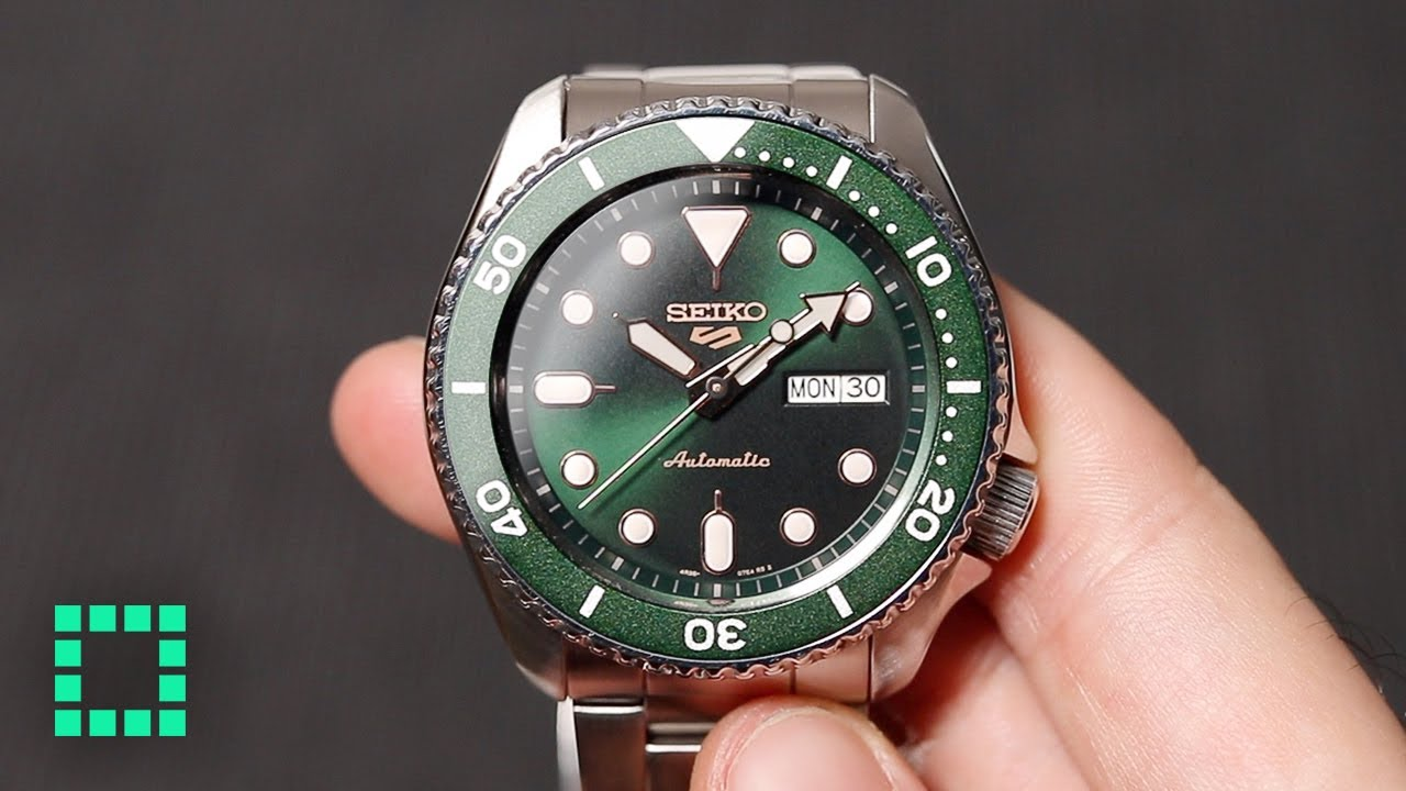 New Seiko 5 Sports [REVIEW] You Might Like It More Than You Think...