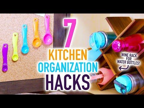 7 Kitchen Organization Hacks to Clean the Clutter! - HGTV Handmade