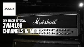JVM Tutorials | JVM410H | Channels & Modes