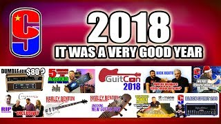 2018 the Year, in Guitars & Gear