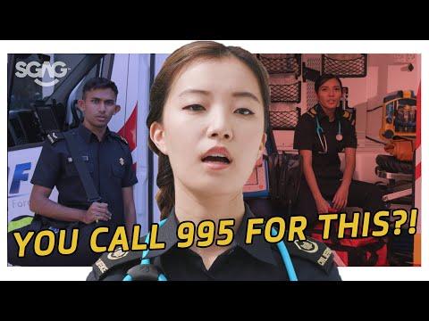The Non-Emergency Rap! (Don't Call 995) | Nubbad TV | SGAG