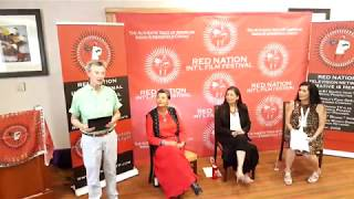 Red Nation Film Fest   Why We Wear Red - Deb Haaland -  Pearl Means - Joanelle Romero