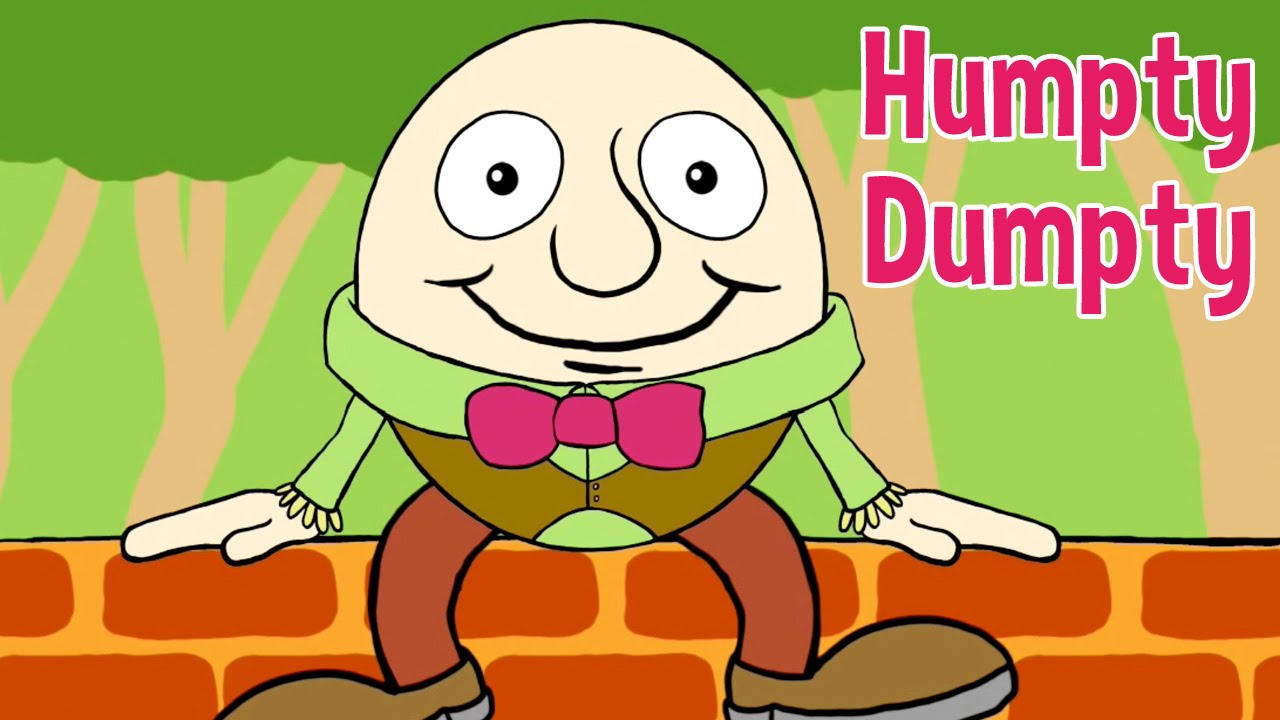 humpty dumpty « humpty dumpty sat on a wall humpty dumpty had a great fall all the king's horses and all the king's men couldn't put humpty dumpty together again.