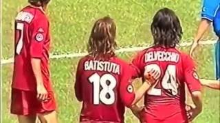 Totti & Batistuta • The Magic Duo