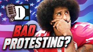 Should Colin Kaepernick have kneeled?