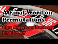 FINAL WORD PERMUTATIONS | AMERICAN ROULETTE LIVE PLAY - Roulette Strategy Review