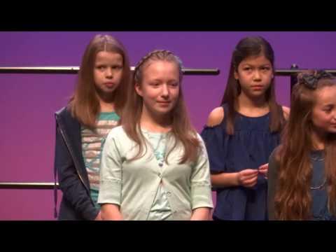HillView school choir performance 20180307