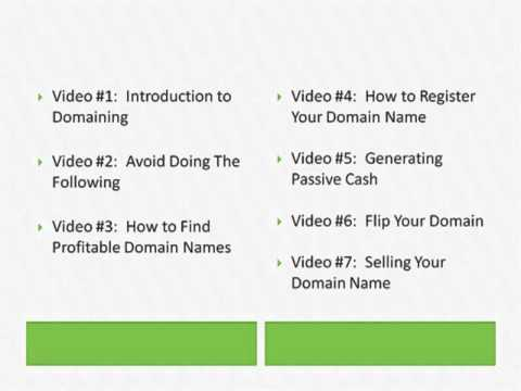 Domain Cash Generator