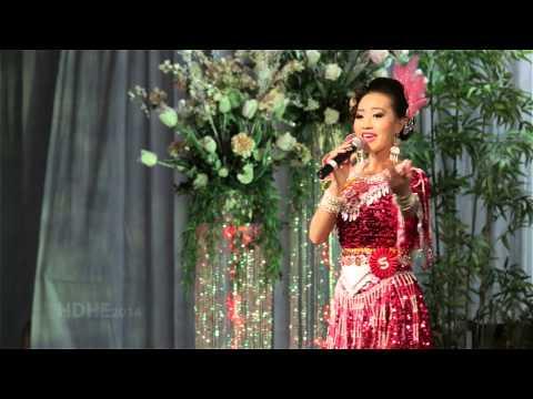 Fresno Hmong International New Year 2014 Pageant Talent Round - MIM YAJ