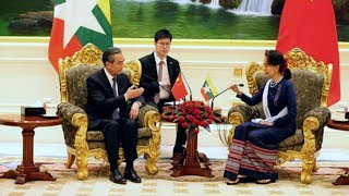 China and Myanmar pledge to boost ties