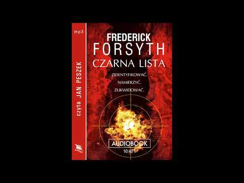 "Frederick Forsyth ""Czarna lista"" audiobook"