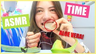 JE TESTE L'ASMR : SATISFAISANT ? - Aloe Vera, Citron, Coca, Fruits + TALKING
