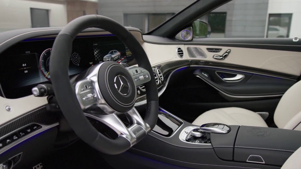 2018 Mercedes S63 AMG - Interior design
