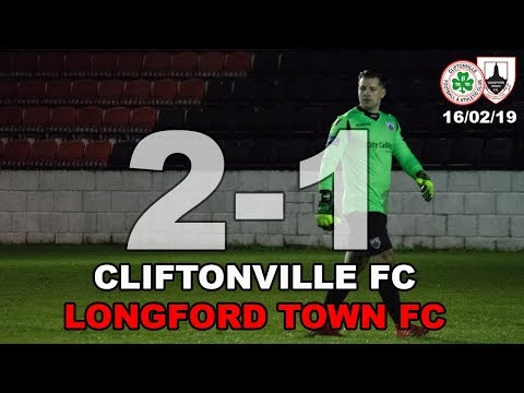 Cliftonville FC v Longford Town FC Highlights 16/02/19 | Pre-Season Friendly
