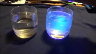Pokus - Zářící tonik