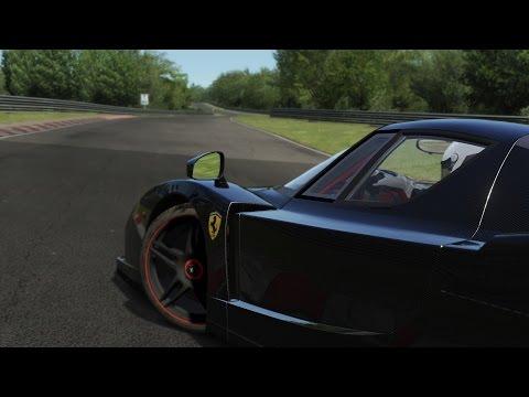 BareCarbon Fiber Ferrari Enzo / Nürburgring / Assetto Corsa
