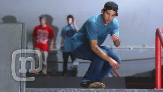 Paul Rodriguez Behind The Trick: Switch BS Smith Grind