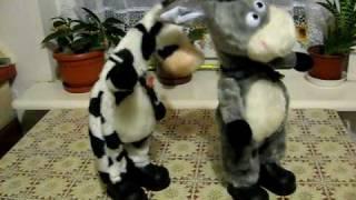 Interaktywne Krowa i Osioł
