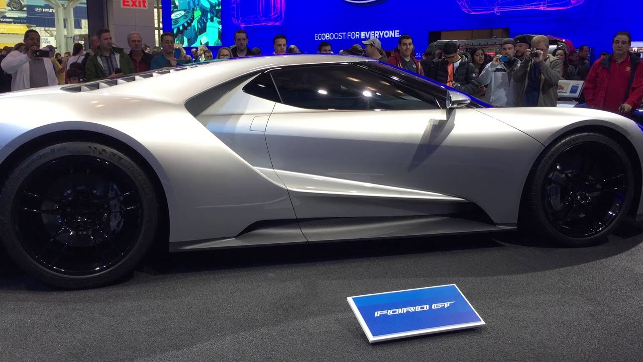 Ford GT At International Auto Show New York Javits Center YouTube - Javits car show