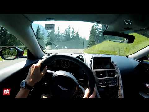 Aston Martin DBS Superleggera - POV : c'est du lourd