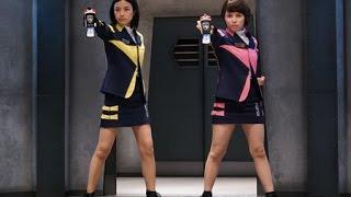 東映の特撮ヒーローたちがチームを結成するシリーズで、『スペース・ス...
