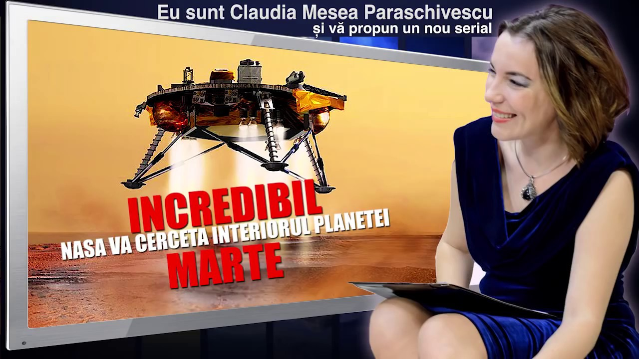 Incredibil NASA va cerceta interiorul planetei Marte
