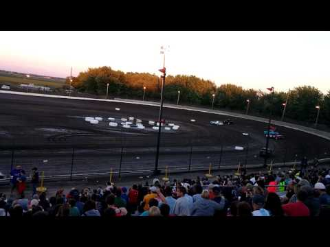 6/23/17 - Sycamore Speedway 6 Lap Compact Trophy Dash